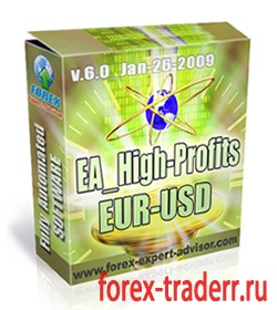 Советник EA High-Profits EUR-USD v 6.0